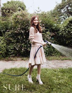 Yoona in august 'sure'. Sweet ~~