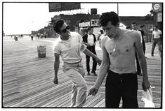 Bruce Davidson, Gang on the Boardwalk at Coney Island, 1959