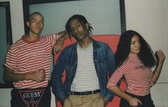 Global fashion brand @guess has partnered with rap artist and style icon @asaprocky to launch its #GUESSOriginals capsule collection. The collaboration recalls GUESS' iconic designs of the 1990sacid washed denim stripes and their classic triangle logofor a heritage-driven lineup that sees the brand making a return to form with modern sensibility. Travel on over to hypebeast.com to watch our exclusive #ASAP4GUESS short film narrated by Rocky himself. Photo: @tancamera by hypebeast