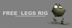 Simple Bot Rig for Maya Maya rigs, maya character rigs, free maya rigs Character Rigging, Free Characters, Animation Tutorial, Rigs, Art Reference, Maya, Simple, 3d, Script