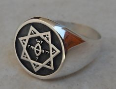 Seal of the Argentum Astrum Thelema Aleister Crowley by vikigreen, $59.99