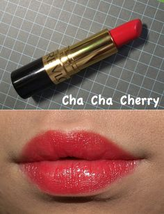 The Happy Sloths: Revlon Super Lustrous Lipsticks: Review and Swatches