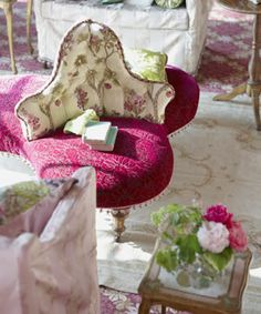 Designers Guild products a beautiful partner with our gorgeous French antique furniture