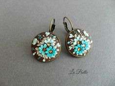 Filigree earrings, 20 mm