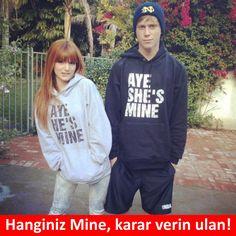 Hanginiz Mine, karar verin ulan!  #mizah #matrak #komik #espri #komik #şaka #gırgır #komiksözler #caps