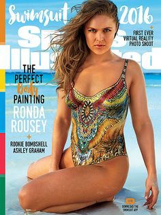 Ronda Rousey Reveals the Great Detail That Went into Painting Her Body for Sports Illustrated Cover http://www.people.com/article/ronda-rousey-sports-illustrated-cover-body-paint
