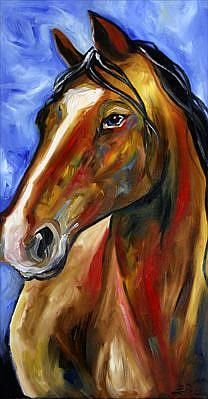 Art: Proud Spirit by Artist Laurie Justus Pace Horse Outline, White Sewing Machine, Painted Horses, Wood Artwork, Horse Paintings, Farm Art, A Level Art, Hand Painted Rocks, Equine Art