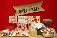 Bake Sale decorating ideas
