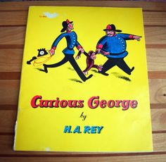 Curious George by H. A. Rey/Scholastic Book by TowardTheNorth