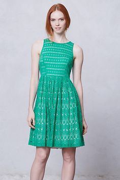 Sunstream Eyelet Dress #anthropologie