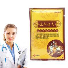 Tigre Baume Soulagement de La Douleur Patch Chinois Plâtres Médicaux Douleurs Musculaires L'arthrite Douleurs Articulaires Patch de Maux de Dos De Massage 8 Pcs K00201