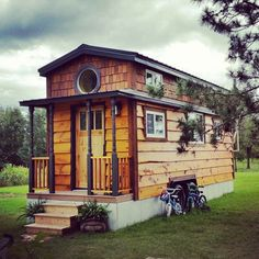 Family Of 4 Lives Happily Ever After In This Unbelievably Adorable 207sf Home.   #TinyHouseforUs