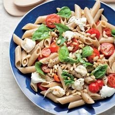 Lunch recipe from the Dash Diet http://www.womenshealthsa.co.za/nutrition/recipes/healthy-italian-pasta-salad-recipe-from-dash-diet