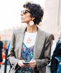 Street style bijoux repérés à la Fashion Week automne-hiver 2017-2018 de Londres