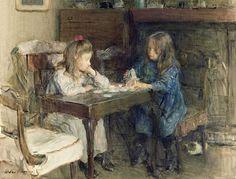Walter Frederick Osborne ~ The House of Builders, 1902 ~ (Irish: 1859-1903)