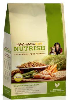 Rachael Ray Nutrish Dry Dog Food,  Chicken & Vegetable Recipe, 14-Pound Bag - http://www.thepuppy.org/rachael-ray-nutrish-dry-dog-food-chicken-vegetable-recipe-14-pound-bag/