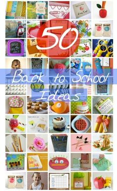 50 Back to School Ideas {Kids} - DollarStoreHouse.com