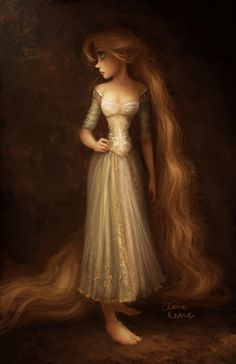 Rapunzel concept design for the movie, Tangled.*******************************************************************************************On a different note… check out my new picture book Once Upon A Cloud, available everywhere!