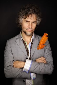 wayne coyne & an orange feather