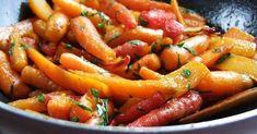 Sült-párolt répa A 17, Ratatouille, Wok, Carrots, Sausage, Vegetables, Ethnic Recipes, Sausages, Carrot