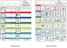 STICKIDS Sensory Processing & Integration software creating sensory diet planners & other visuals