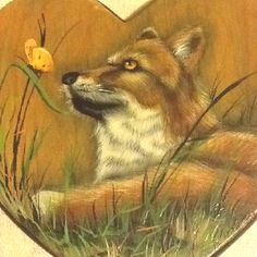 Painted this a long time ago Long Time Ago, Painting Patterns, Fox, Animals, Animais, Animales, Animaux, Animal, Foxes