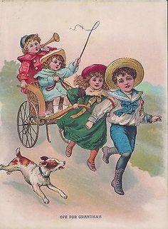 Alenquerensis: Victorian Prints and Illustrations for Your Projects Vintage Book Art, Vintage Art Prints, Antique Prints, Vintage Images, Farm Art, Children Images, Victorian Era, Vintage Children, Art Images