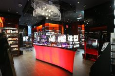 Inside Sephora's Sparkly Times Square Makeover - Makeovers - Racked NY (not all fixtures/units shown were produced by Array)