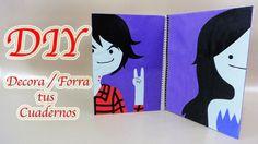Decora / Forra Tus Cuadernos Con Marceline & Marshall Lee