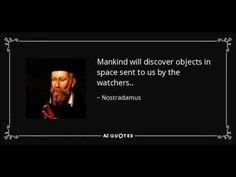 Did Nostradamus predict the Black Knight Satellite?