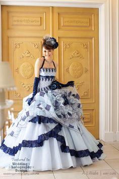 Beyond Kimono: 38 Modern Kawaii Japanese Wedding Dress Inspiration