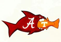 Alabama devoured the Vols with a score of 49 -10, October 15, 2016
