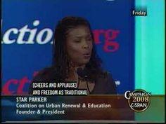 Conservatives MUST see!! Star Parker's speech AMEN!!!!!