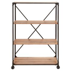 Rolling Industrial Shelves