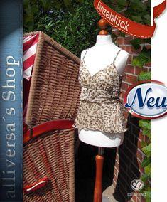 Details zu NEU 36 38 S M Vero Moda DENIM zarte Chiffon Bluse Top,LEO  Print,Beige Braun Crem a285d927d7