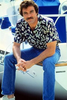 Tom Selleck #Hawaiianshirt (Magnum P.I.)