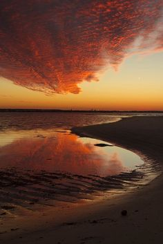 ? Amazing Clouds And Reflection