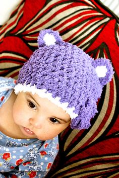 12 to 24m Baby Bear Hat Set, Baby Hat and Mittens Set, Purple Toddler Hat, Purple Bear Beanie, Bear Baby Girl Hat, Toddler Bear Hat #baby #children #kids #kidsfashion #girlhat #babygirl #easter #babyhat #hat #babamoon #etsy #photoprop #bunnycostume #eastercostume #christmasgifts