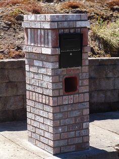 Mailbox Design Ideas 42 cool and unusual mailbox designs Brick Mailboxes Home Brick Mailbox Design Ideas Pictures Remodel And Decor