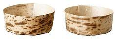 Coupelle jetable Solia feuille de bambou rond (vendu par 100) 13,99€