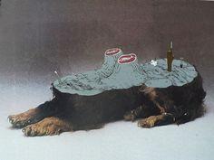 Grossadmira Wig . Gary Busey's carpet madame, 1991