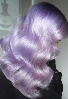 59 Lovely Lavender Hair Color Shades & Dye Tips 59 Lovely Lavender Hair Color Shades & Dye Tips - Glowsly 43 Erstaunliches dunkelviolettes Haar, Balayage / Ombre / Violett Hair Color Highlights Lowlights For Dark Burgundy Plum Violets Colors, Lavender Hair Colors, Hair Color Purple, Hair Color Shades, Cool Hair Color, Blue Hair, Gray Hair, Unicorn Hair Color, Violet Hair, Burgundy Hair