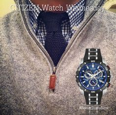 Never be afraid to pair your accessories to your outfit. This is the LIMITED EDITION PERPETUAL CHRONO A-T (MODEL: AT4021-02L) $825 http://www.citizenwatch.com/en-us/watches/watch-detail/?model=AT4021-02L
