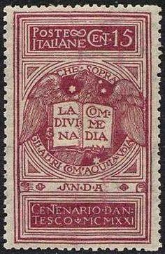 francobolli Dante 1921 - Buscar con Google