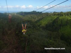 Hawaii Zip Lines #Hawaii #Zipline