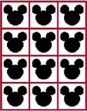 mouse ears mickey crochet pattern graph