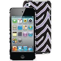 Macbeth Collection iPod Touch Case - Lilac & Black Zebra