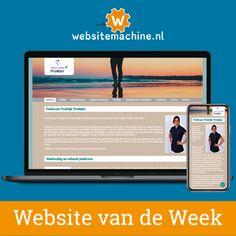 #Websitemachine website van de week: pedicurepraktijk-promari.nl Mendy werkt als ambulant pedicure in de regio Utrecht. Haar kwaliteiten zijn erkend door ProVoet, de brancheorganisatie voor pedicures. De combinatie van regionale acquisitie met promotieflyers en haar goed gevulde website zorgde voor een vliegende start van haar pedicurepraktijk.  #Websitemachine #websitevandeweek #website #sitebuilder #ondernemen #ZZP #starter #voetverzorging #pedicure #ProVoet #voeten #nagels #voetmassage Web Design, Massage, Design Web, Website Designs, Site Design, Massage Therapy