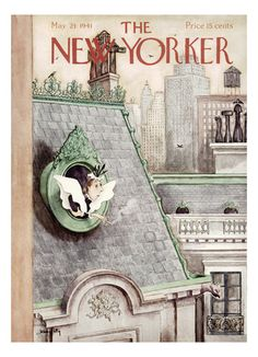The New Yorker Cover - May 24, 1941 Giclee Print