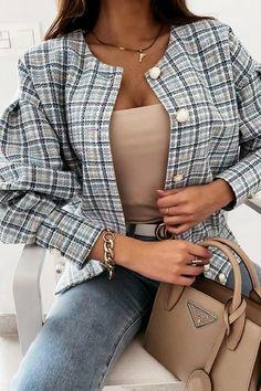 Ripped Shorts, Denim Shorts, Chanel Style Jacket, Denim Romper, Plaid Jacket, Chanel Fashion, Flare Pants, Fashion News, Rompers